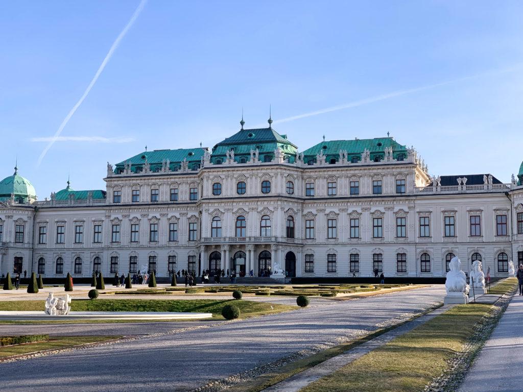 Palais Belvédère Vienne
