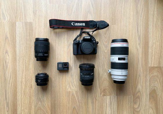 matériel photo et vidéo